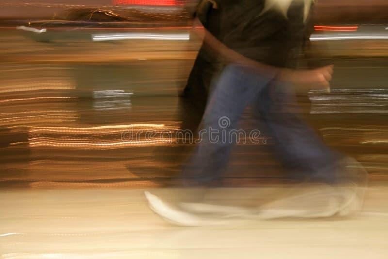 Het Lopen van mensen stock fotografie