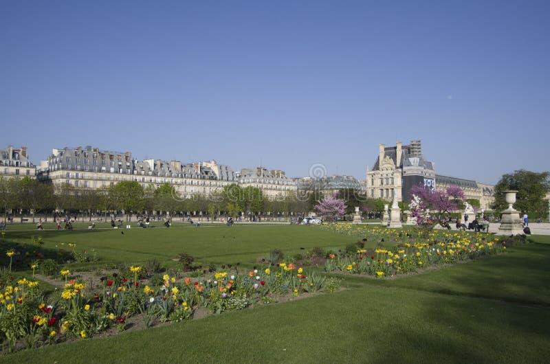 Het Louvremuseum royalty-vrije stock fotografie