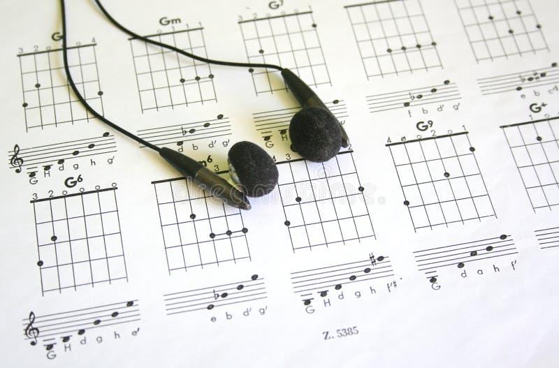 Het lusje van de gitaar royalty-vrije stock afbeelding