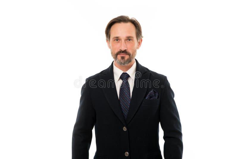 Het maatkostuum vleit elke drager Het kostuum doordringt betekenis van vertrouwen van heren Perfect kostuum voor elk type van ker stock afbeelding