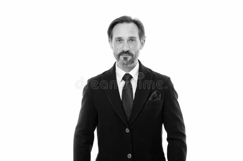 Het maatkostuum vleit elke drager Het kostuum doordringt betekenis van vertrouwen van heren Perfect kostuum voor elk type van ker royalty-vrije stock foto's