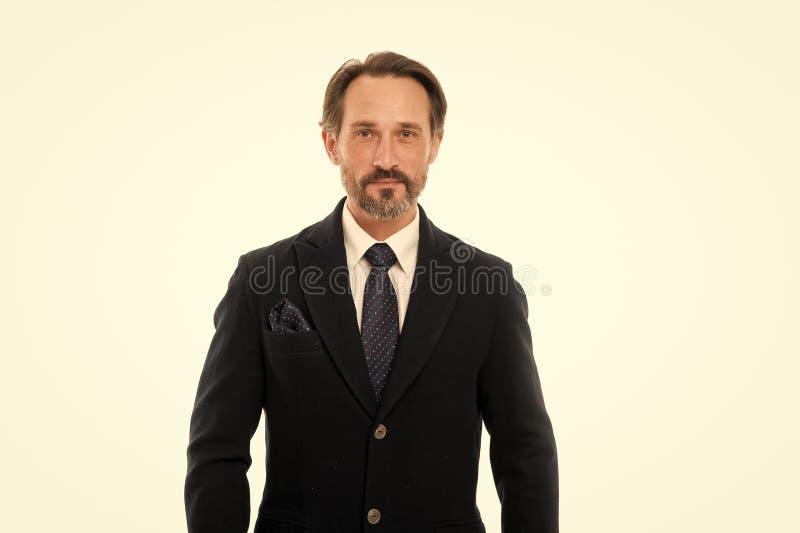 Het maatkostuum vleit elke drager Het kostuum doordringt betekenis van vertrouwen van heren Perfect kostuum voor elk type van ker royalty-vrije stock fotografie