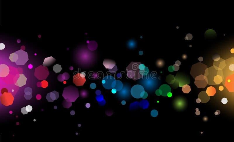 Het magische Licht van de Fonkeling vector illustratie