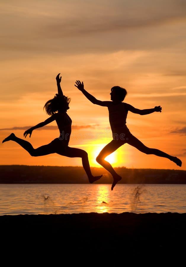 Het majestueuze dansen stock foto's