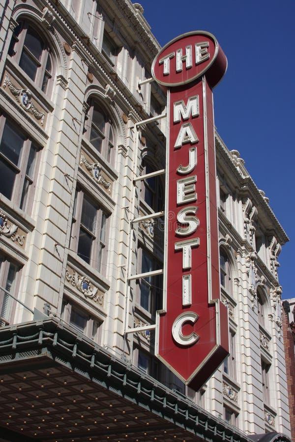 Het Majestueuze Filmhuis stock foto's