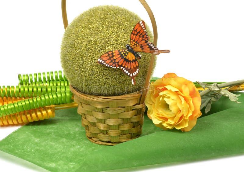 Het maken van boeket van bloemen royalty-vrije stock foto