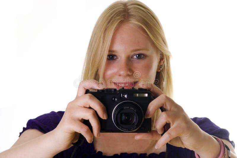 Download Het maken van een foto stock foto. Afbeelding bestaande uit vreugde - 10782726