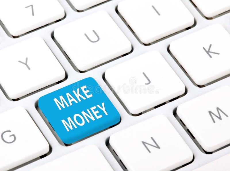 Het maken van geld stock afbeeldingen
