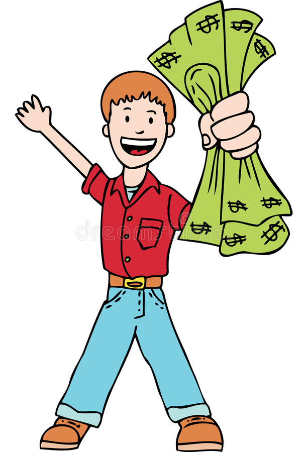 Het maken van geld vector illustratie