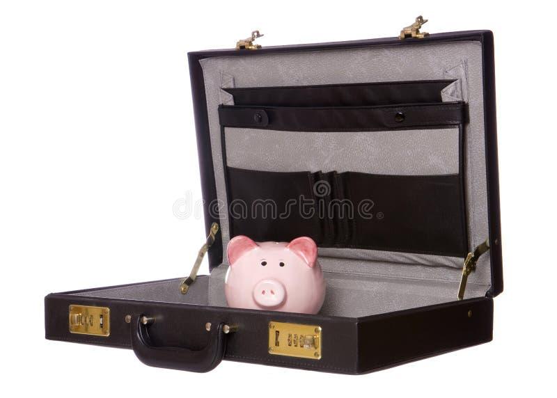 Het maken van geld in zaken stock afbeelding