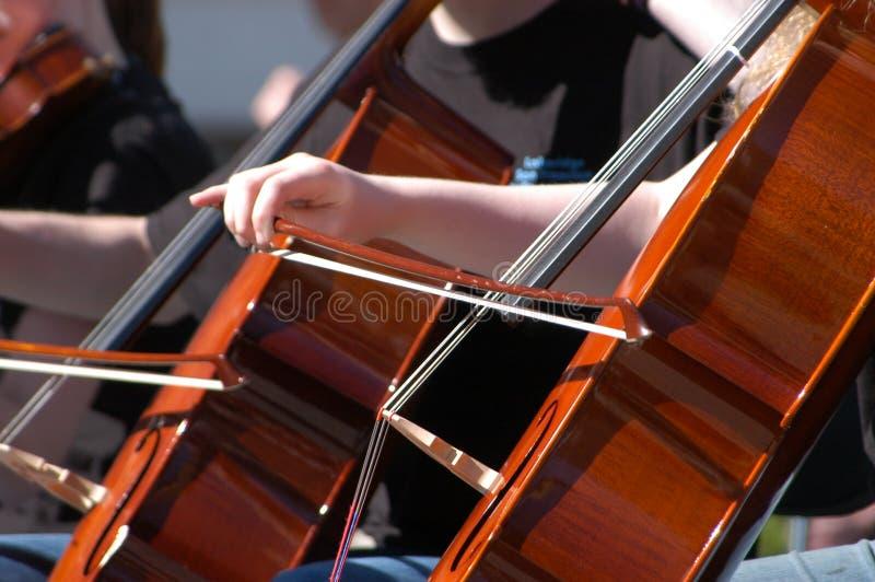 Het maken van Muziek stock afbeelding