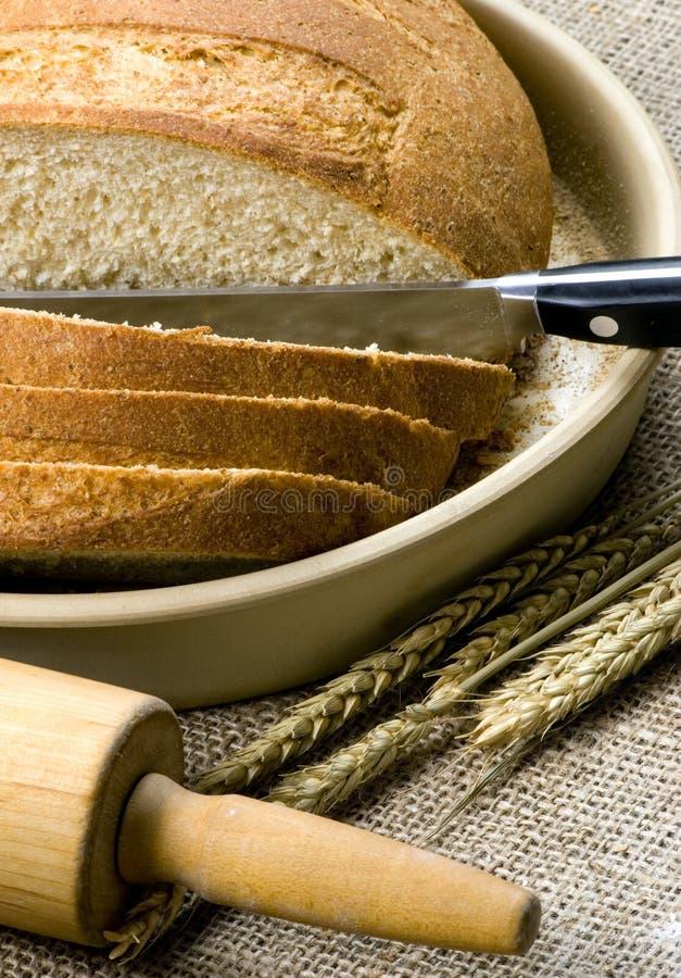 Het maken van Reeks 027 van het Brood royalty-vrije stock foto