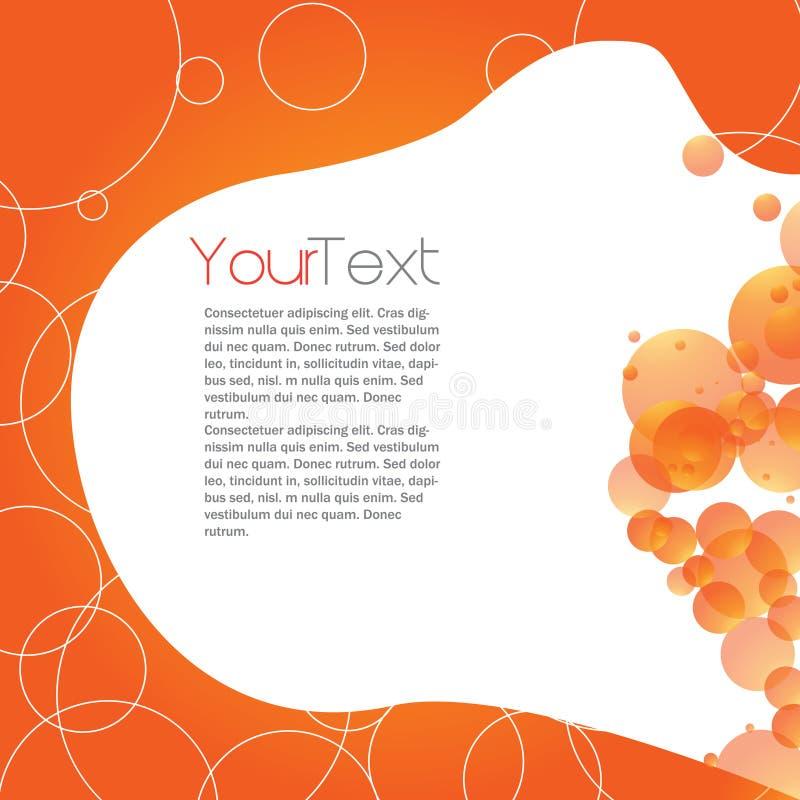 Het Malplaatje van de brochure stock illustratie