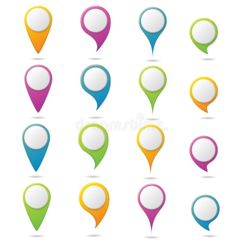 Het malplaatje van het Infographicontwerp kan voor werkschemalay-out, diagram, aantalopties, Webontwerp worden gebruikt Bedrijfs  royalty-vrije illustratie