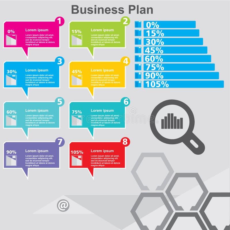 Het malplaatje van het Infographicontwerp kan voor werkschemalay-out, diagram, aantalopties, Webontwerp worden gebruikt Infograph vector illustratie