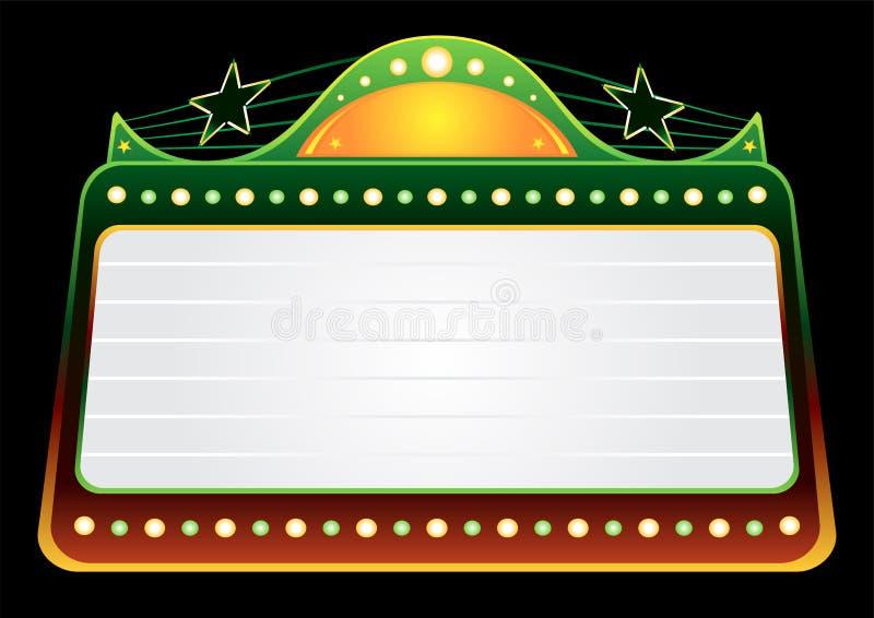 Het malplaatje van het kassucces royalty-vrije illustratie