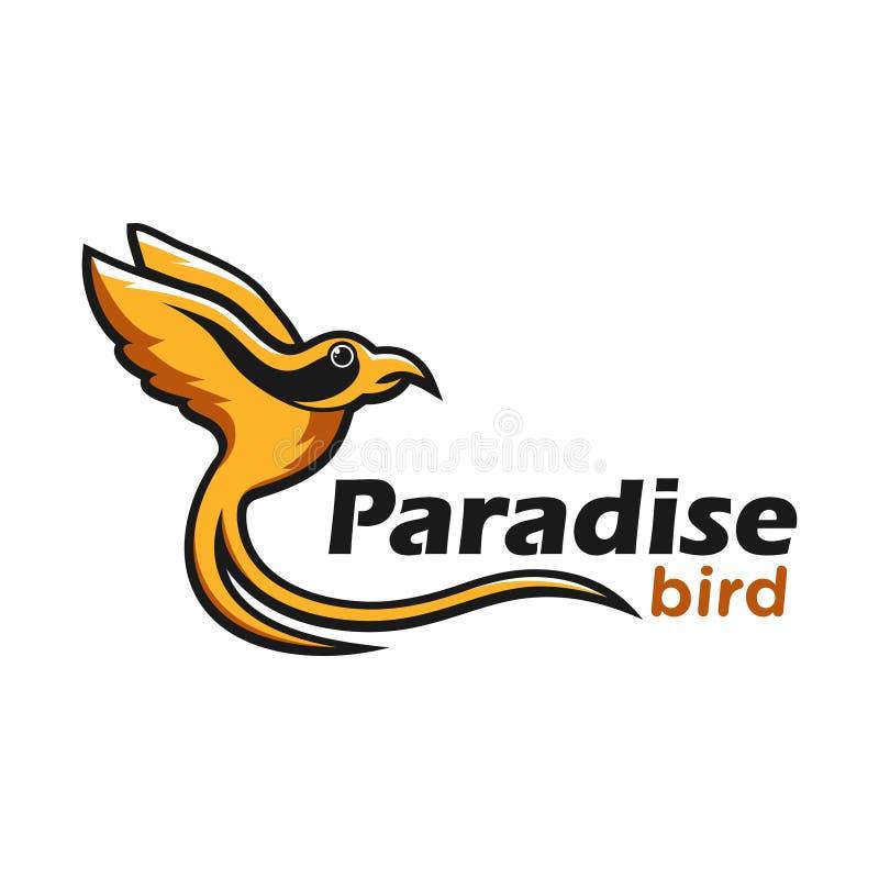 Het malplaatje van het kolibrieembleem uw bedrijf vector illustratie