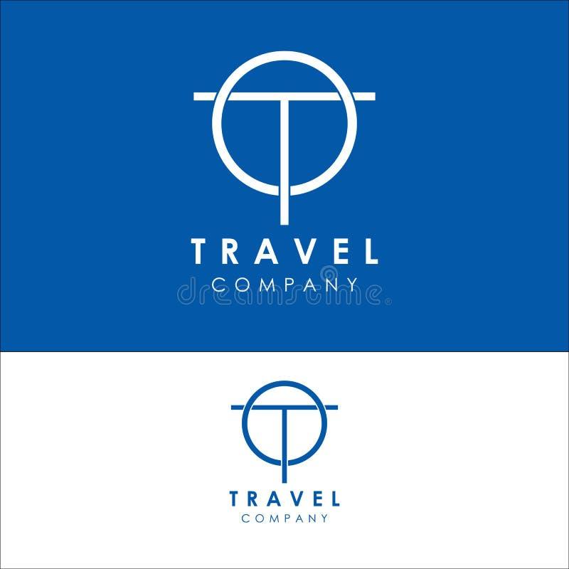 het malplaatje van het reisembleem, de vector van het vakantieontwerp, pictogram stock illustratie