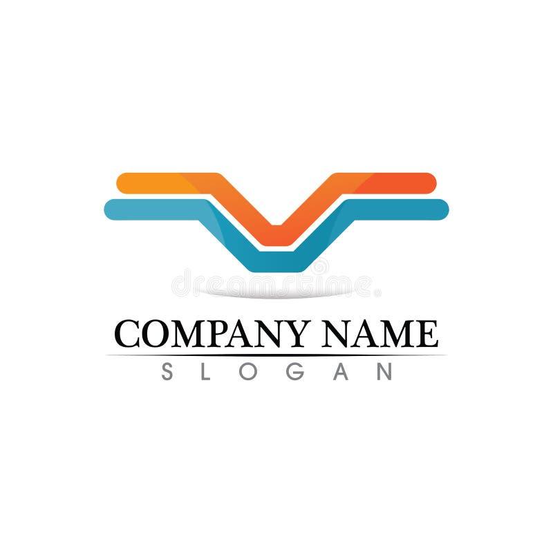 Het malplaatje vectorpictogram van het bedrijfsfinanci?n professioneel embleem vector illustratie