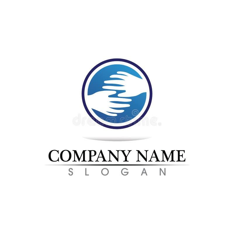 Het malplaatje vectorpictogram van het bedrijfsfinanci?n professioneel embleem stock illustratie