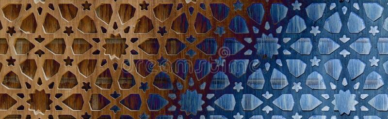 Het malplaatjepaneel van de laserbesnoeiing, de matrijs gesneden geometrische vorm van de patroonrechthoek stock afbeelding