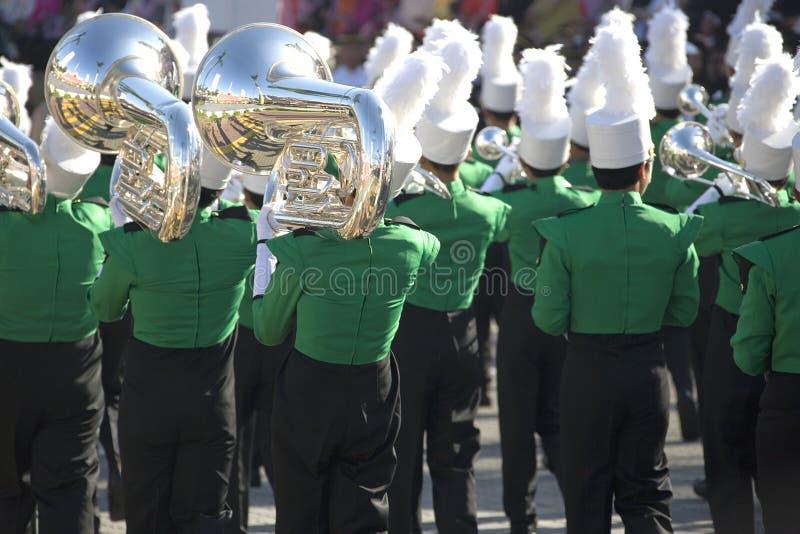 Het marcheren Band stock afbeelding