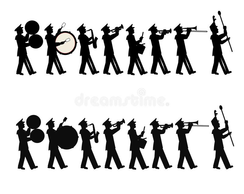 Het marcheren band