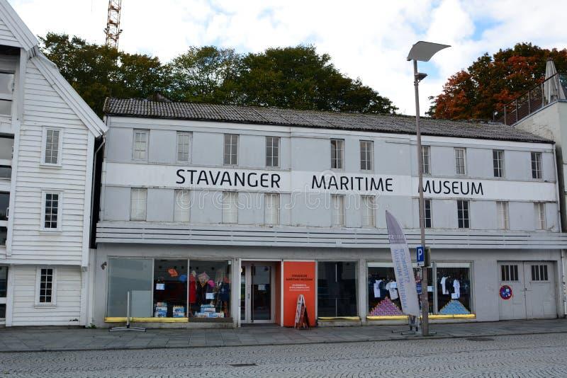 Het Maritieme Museum Stavanger Rogalandprovincie noorwegen royalty-vrije stock afbeeldingen