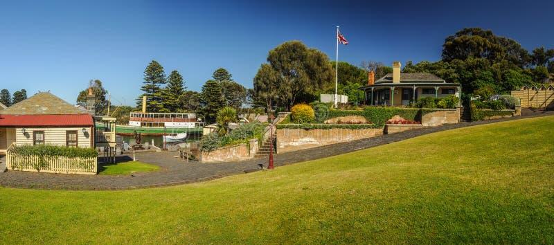 Het Maritieme Museum van de vlaggemastheuvel stock foto