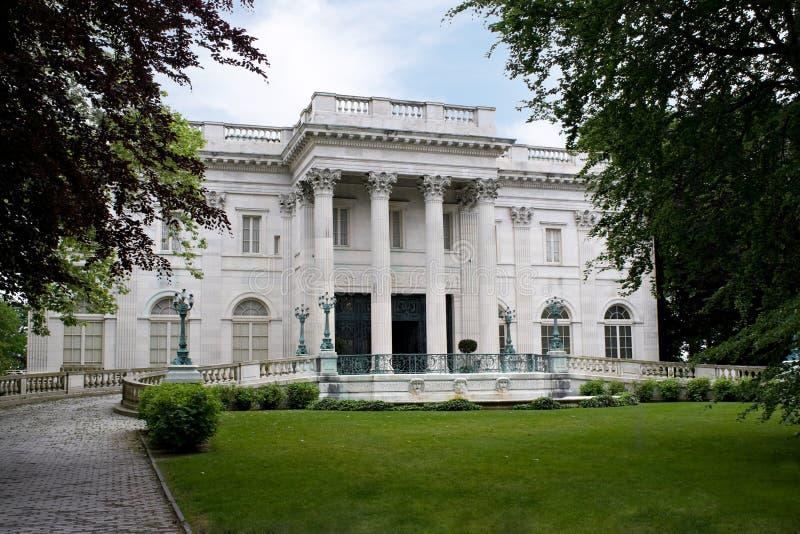 Het marmeren Herenhuis van het Huis stock afbeeldingen