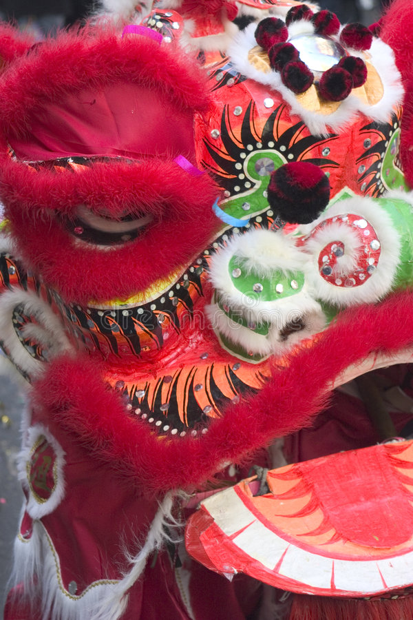 Het Masker van de draak stock afbeeldingen