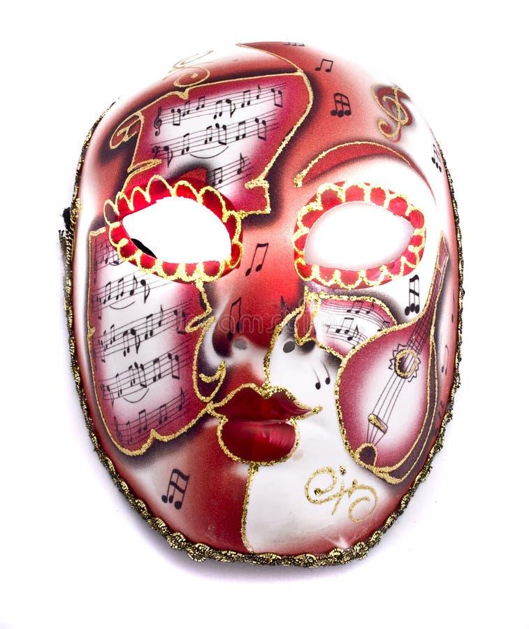Het masker van de muziek stock afbeeldingen
