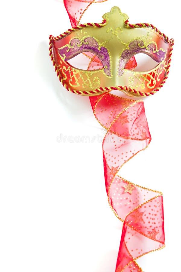 Het Masker van de Partij van Kerstmis stock fotografie