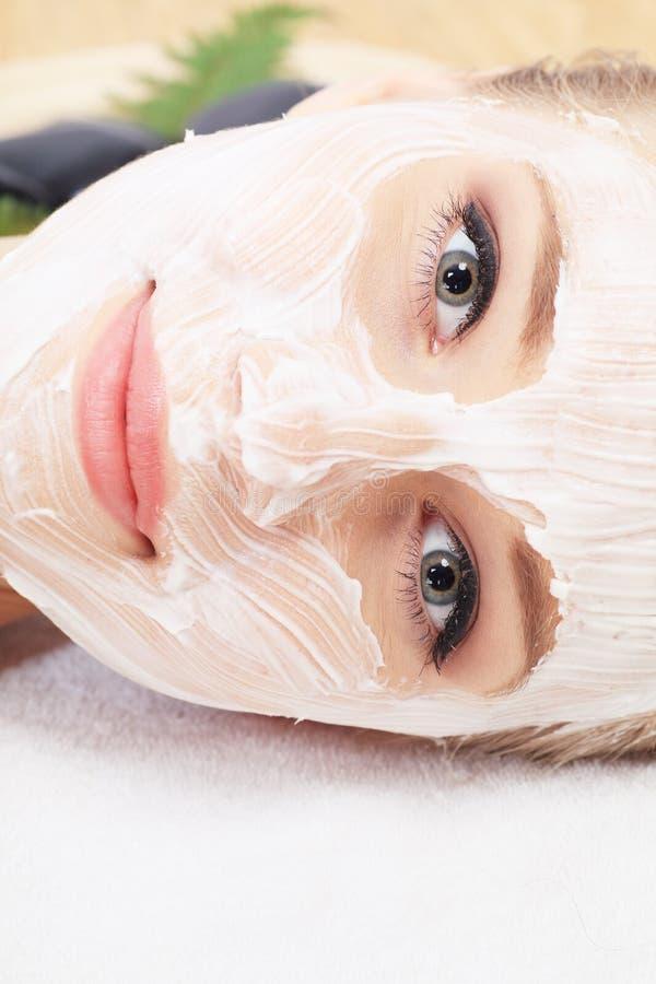 Het masker van de schoonheid royalty-vrije stock afbeelding