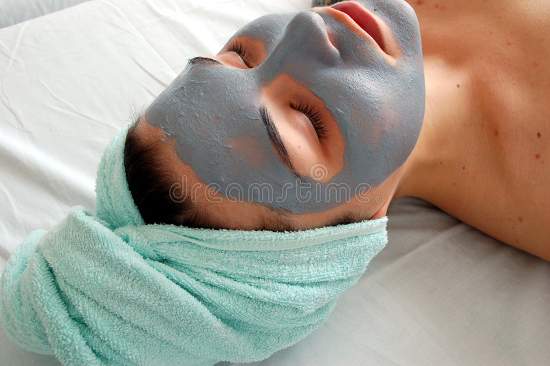 Het masker van de schoonheid #6 stock foto