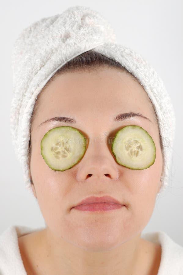 Het masker van het fruit #16 stock foto's