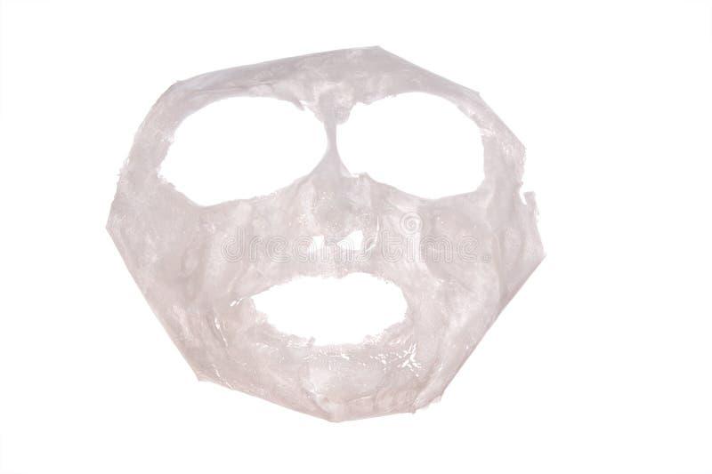 Het masker van het gezicht, pak stock foto