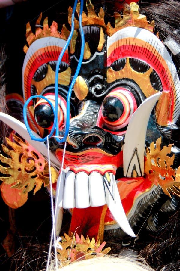 Het masker van het Rahwanagezicht stock foto