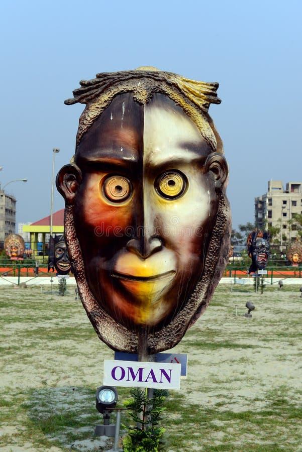 Het Masker van Oman royalty-vrije stock foto