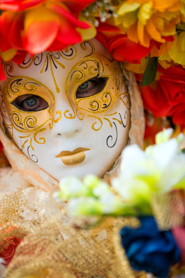 Het Masker van Venetië, Carnaval. royalty-vrije stock fotografie