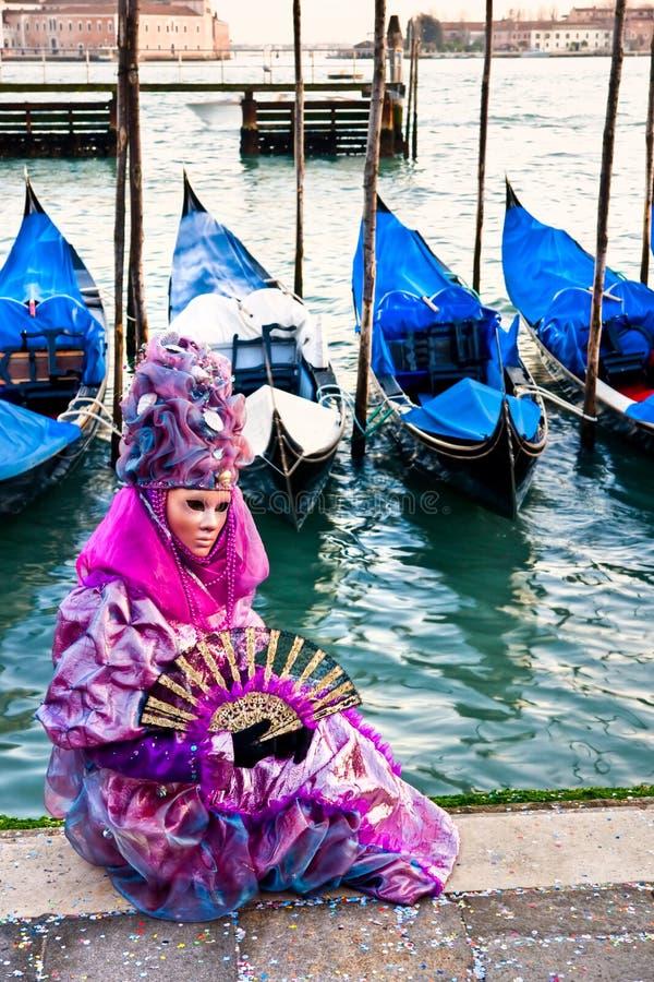 Het Masker van Venetië, Carnaval. royalty-vrije stock afbeeldingen