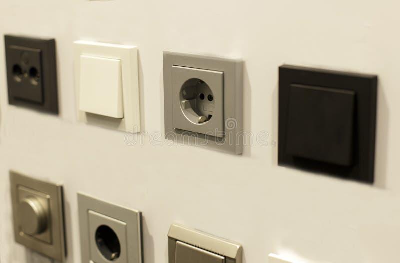 Het materiaal van de elektricien royalty-vrije stock foto's