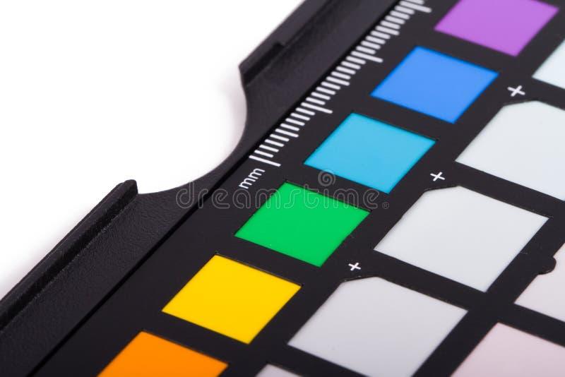 Het Materiaal van de kleurencontroleur royalty-vrije stock foto