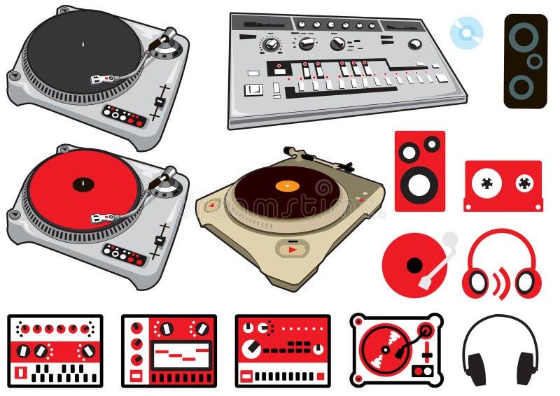 Het Materiaal van DJ
