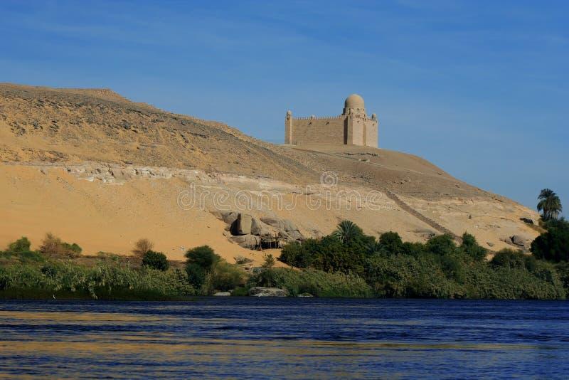 Het mausoleum van Aga Khan royalty-vrije stock fotografie