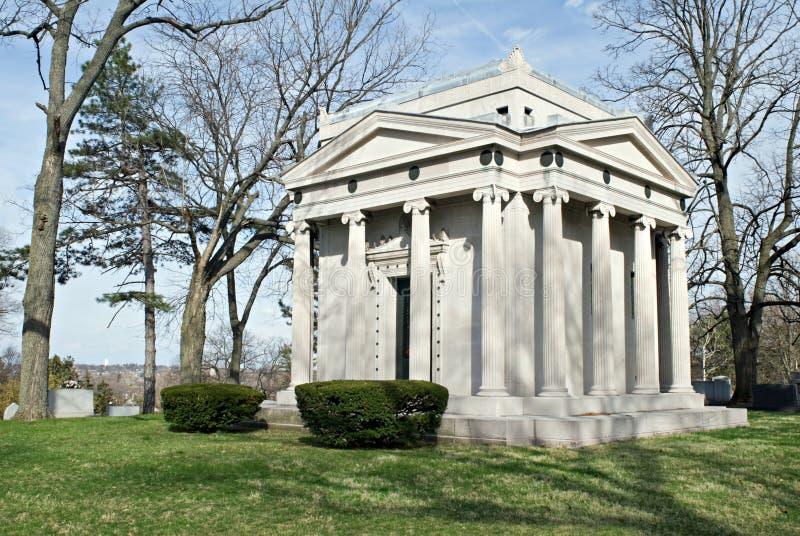 Het Mausoleum van de familie stock afbeelding