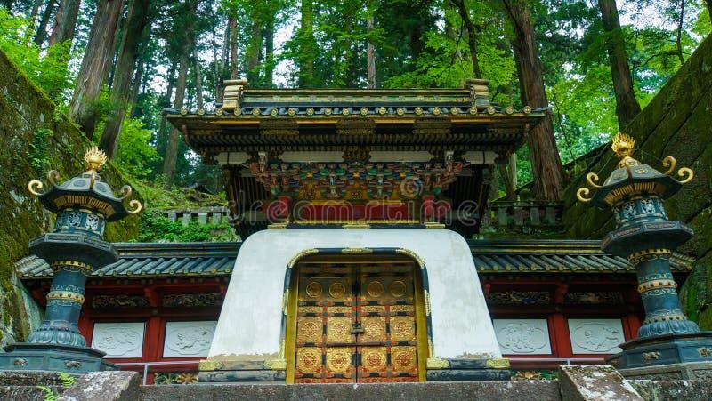 Het mausoleum van Tokugawaiemitsu stock fotografie