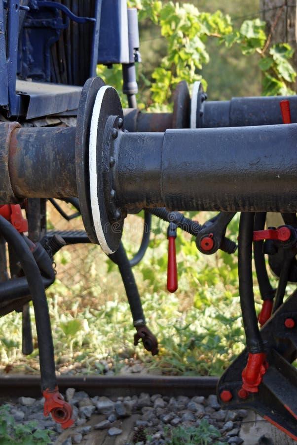 Het mechanisme van de koppeling stock foto