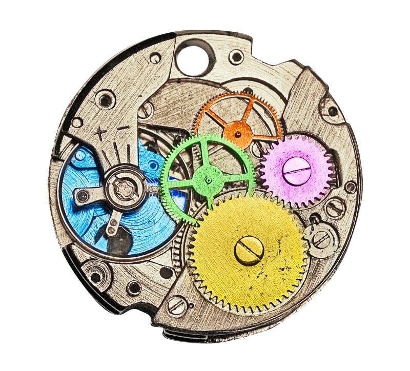 Download Het Mechanisme Van Het Horloge Stock Foto - Afbeelding bestaande uit aanpassing, mainspring: 26199434