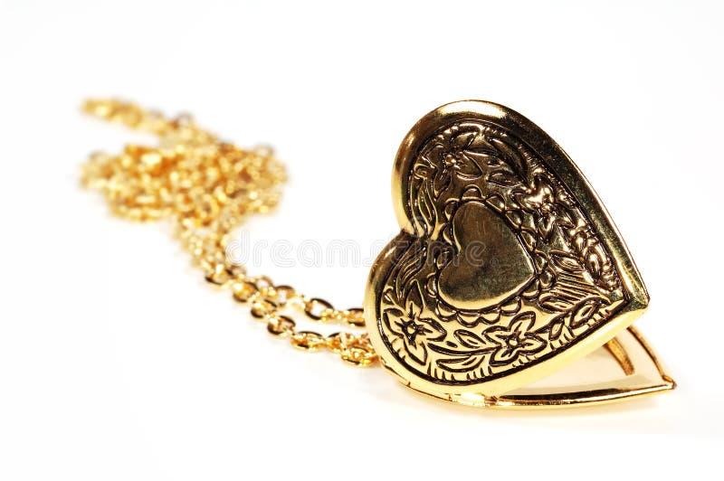 Het Medaillon van het hart royalty-vrije stock afbeelding